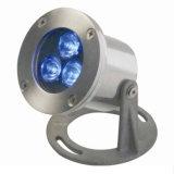 LEDの水中軽い池の防水Lightingpondの防水照明3W