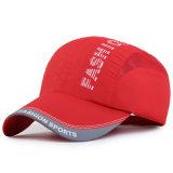 Gorra de béisbol polivinílica seca rápida de la pongis de la manera (YKY3427)