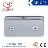 ステンレス製Steel180程度のシャワー室のガラス固定クリップ(CR-G28)