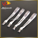 Конструкция логоса выдвиженческих Wristbands города партии ткани изготовленный на заказ