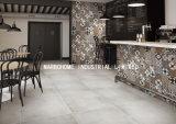 Volles Karosserien-Kleber-graues Porzellan Vitrified glasig-glänzende Matt-rustikale Fliese (MB69026) 600X600mm für Wand und Bodenbelag