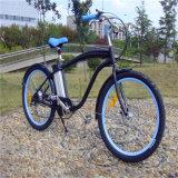 bicicletta elettrica della bici della spiaggia dell'uomo della batteria di litio di 250W 36V 10ah