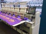 Machine automatique mélangée de broderie de 6 têtes pour le chapeau, le T-shirt et la broderie plate