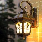 Lanterna antica americana della parete del giardino di stile per la decorazione