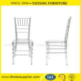 Cadeira plástica desobstruída por atacado chinesa do acrílico da cadeira de Chiavari