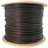 câble optique d'intérieur 24-Core Om1/extérieur de fibre Serré-Mis en mémoire tampon parJupe Simple-Blindée uni-mode