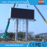 Publicidade ao ar livre P8 Full Color LED Video Wall for Building Wall