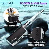 Seego Gepatenteerd e-Sigaret Mod. van Vape van de Doos van de Batterij van de Tank Pen+Tc van Vhit Aqua 50W met Grote Capaciteit
