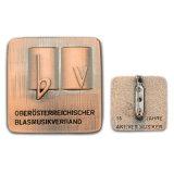 カスタム印刷された作業の公表Pinのバッジ