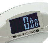 200kg / 50g Clear Glass Household Health Body Scale