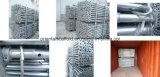 La construcción de andamios de apuntalamiento de acero de Ajustable Prop