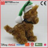 Perro suave modificado para requisitos particulares de la felpa de los animales rellenos del juguete