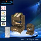 con il mini indicatore luminoso capo mobile della lavata supplementare del IRC Functiion 4PCS 15W 4in1 LED