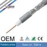 Kabel van kabeltelevisie van de Kabel van de Prijs 75ohms van de Fabriek van Sipu 3c2V RG6 de Coaxiale