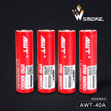 Awt (3000mAh/40A) батарея батареи Li-иона 18650 батарей перезаряжаемые