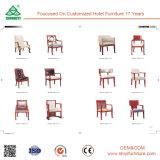 2017 Nueva madera de la tina de los muebles del hotel del diseño Imita la silla para comer