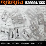 13.56 Etiqueta antirrobo de la etiqueta engomada de la voz pasiva RFID para la gerencia