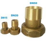 Connecteur de compteur d'eau en laiton Dn50 (2 pouces) pour compteur d'eau en laiton