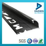 El mejor perfil de aluminio de aluminio T5 del ajuste 6063 del azulejo de la calidad