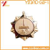 Metallo di placcatura del medaglione del regalo su ordinazione di promozione del ricordo di marchio della moneta (YB-HR-33)