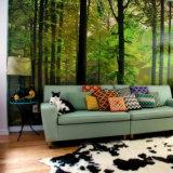 Stampa impermeabile dei murali della parete di paesaggio della decorazione domestica di alta qualità