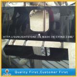 Absolute Zwarte Countertops van de Keuken van het Graniet Shanxi voor Commercieel/Woon