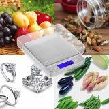 [500غ][إكس][0.01غ] [لكد] [ديجتل] إلكترونيّة مطبخ مقياس لأنّ طعام يزن