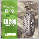 neumático resistente del neumático TBR del carro de los neumáticos de la parte radial del carro 12r22.5 con seguro de responsabilidad por la fabricación de un producto