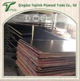 Fábrica de gran tamaño 18 mm de álamo rojo WBP pegamento de construcción de hormigón de encofrado
