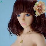 Flache Brust-reale Geschlechts-Puppe der Cer-Bescheinigung-132cm mit der Minibrust Jl132-04