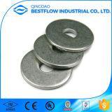 Rondelle plate mince en métal en aluminium, rondelle ordinaire de vente en gros