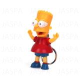 Simulando a lanterna elétrica leve do diodo emissor de luz Keychain da voz do personagem de banda desenhada de Simpson (71-1Y1300)