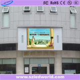 SMD / DIP Outdoor Full Color Fixed LED Display Panel Placa Fábrica Publicidade P8