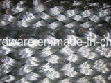 電流を通された鉄ワイヤー金網14#