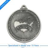 De goedkope Medaille van de Voetbal/van het Voetbal van de Sport van het Koper 2D voor Verenigde Haven