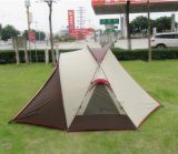 Barraca UV dobro de acampamento Rainproof da família da praia do pára-sol ao ar livre