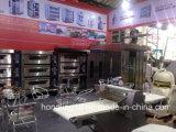 Linha de produção personalizada forno do bolo de lua do pão do biscoito de túnel Diesel industrial