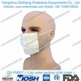 使い捨て可能な極度の柔らかいNon-Wovenフィルター耳ループマスクのマスクQk-FM006