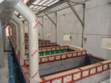 Kühlraum-automatische Puder-Beschichtung-Einheit