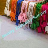 Mufacturer de 7 '' Multi Color caída de la ropa Cadena de etiquetas