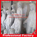 Gesegnete Jungfrau- Mariamarmorskulptur-Muttermarmorstatue