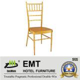 Металл штабелируя серебряный стул банкета цвета (EMT-809-Silver)