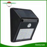 2016 신식 최고 승진 12 LED 태양 강화된 무선 PIR 운동 측정기 빛 옥외 정원 안전 벽 램프