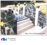 Disegno della pietra tombale del granito di stile tradizionale