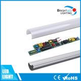 Fábrica de Ministerio del Interior de la Escuela de la UL Que Enciende Luces del Tubo de 4 Pies T8 LED