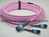 12/24/48/144 joncteur réseau Patchcord de fibre optique du faisceau MPO/MTP