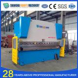 Máquina de dobramento hidráulica da placa de aço do CNC de Wc67y