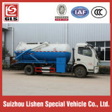 아프리카에 Mini 작은 Suction Sewage Truck 120 HP Fecal Sewage Truck Exort