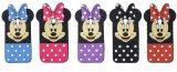 iPhoneのためのミニーマウスのシリコーンの電話箱6 6splus 7 7plus A5 A7 2017年(XSD-001)