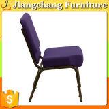 Silla púrpura económica de la iglesia de la venta caliente sin las sillas del estante